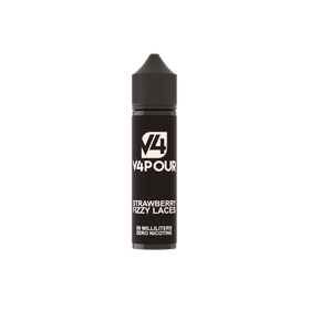 V4POUR Strawberry Fizzy Laces E-Liquid