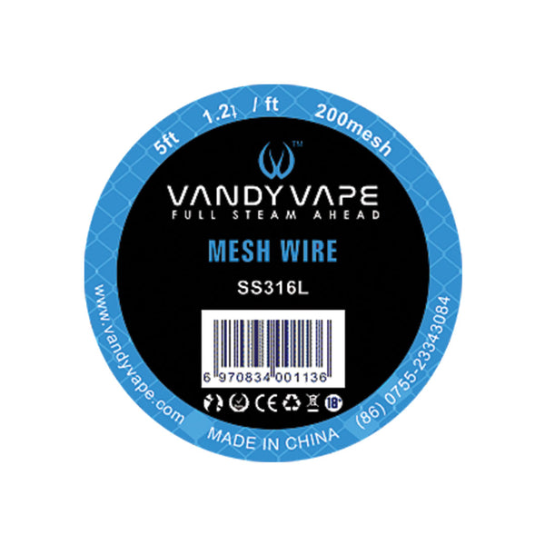 Vandy Vape Mesh Wire Stainless Steel