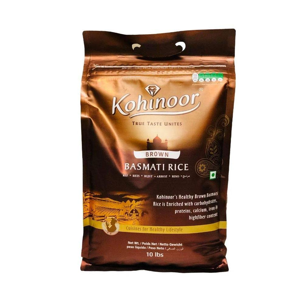 Kohinoor Brown Basmati Rice 10lb