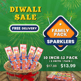Color Sparklers – Family combo (Diwali Savings pack)