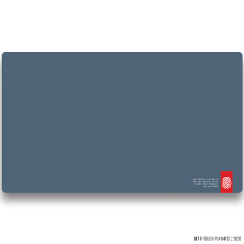 DEATHTOUCH PLAIN SLATE BLUE PLAYMAT