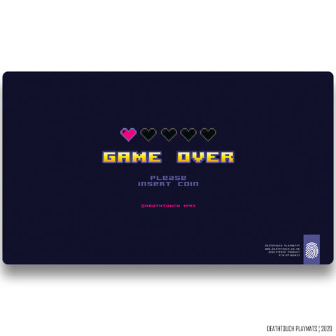 DEATHTOUCH GAME OVER PLAYMAT
