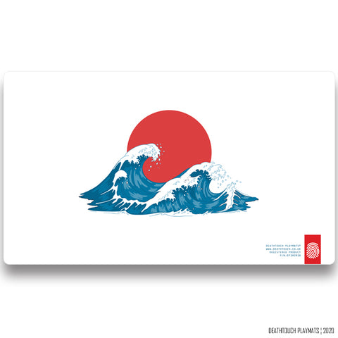 DEATHTOUCH JAPANESE WAVE PLAYMAT