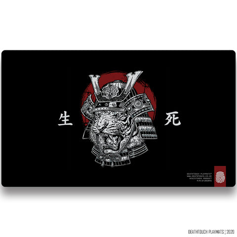 DEATHTOUCH CAT WARRIOR PLAYMAT