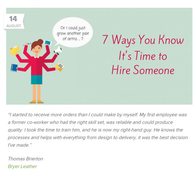 7 Ways you know it's time to hire someone