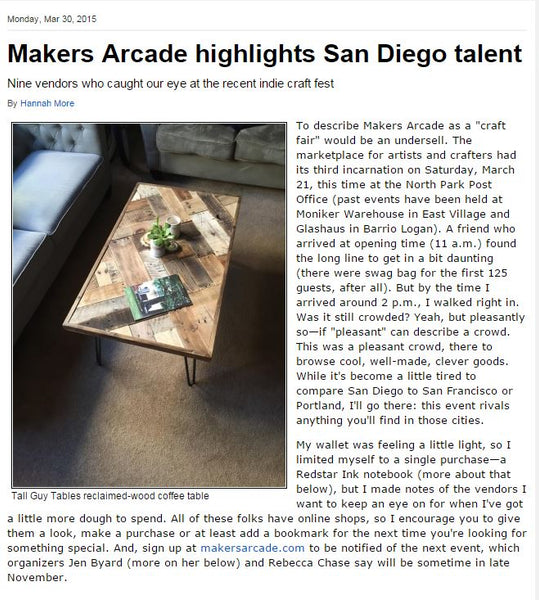 Makers Arcade Highlights San Diego Talent