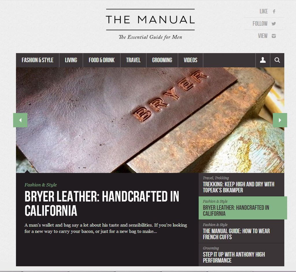 The Manual - The Essential Guide for Men
