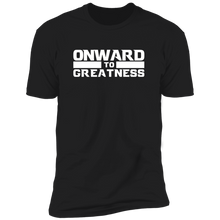 Onward to Greatness Black Tee