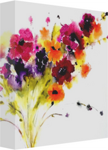 Load image into Gallery viewer, Misty Flowers Canvas Prints
