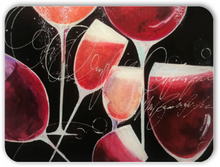 "Load image into Gallery viewer, ""Wine by the Glass"" Charcuterie - Cutting Board"