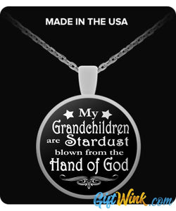 Blown From the Hand of God-Necklace-Gift Wink