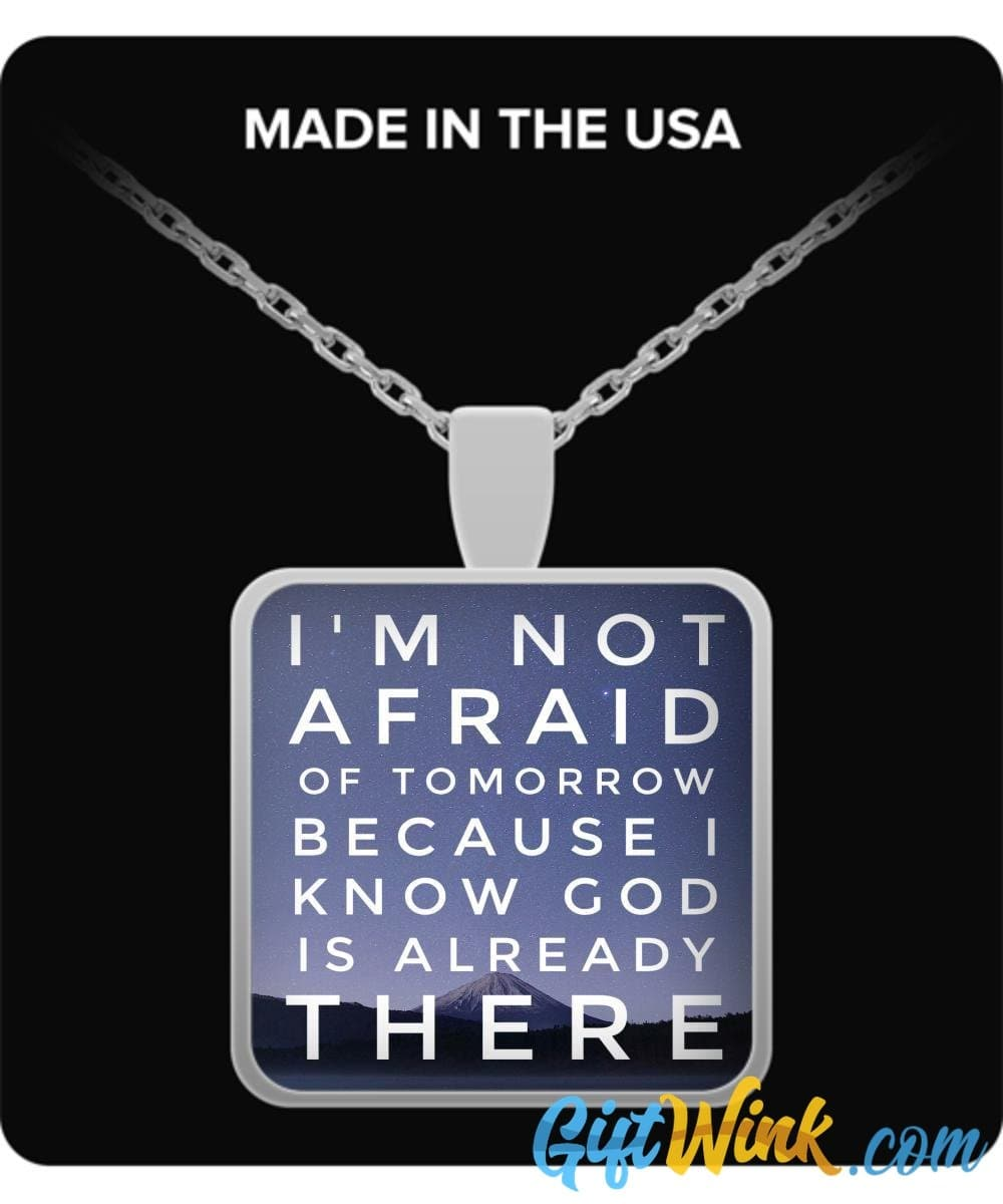 God is Already There - Necklace-Necklace-Gift Wink