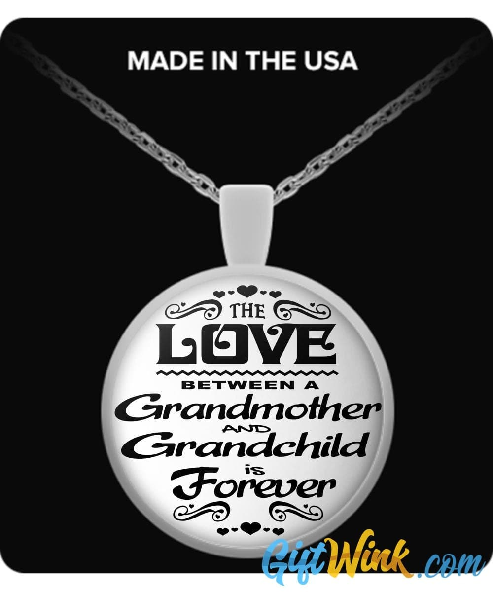 Grandmother & Grandchild Love-Necklace-Gift Wink