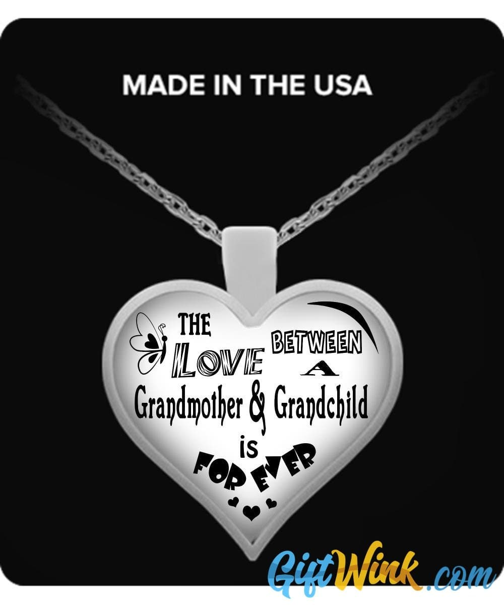 Love Between Grandmother & Grandchild-Necklace-Gift Wink