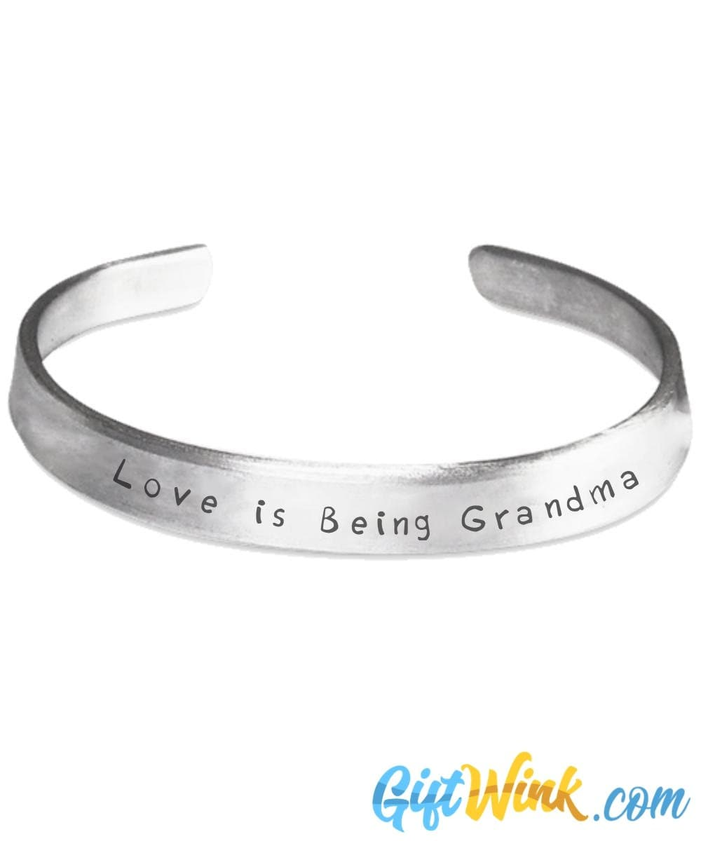 Love is Being Grandma Bracelet-Bracelet-Gift Wink