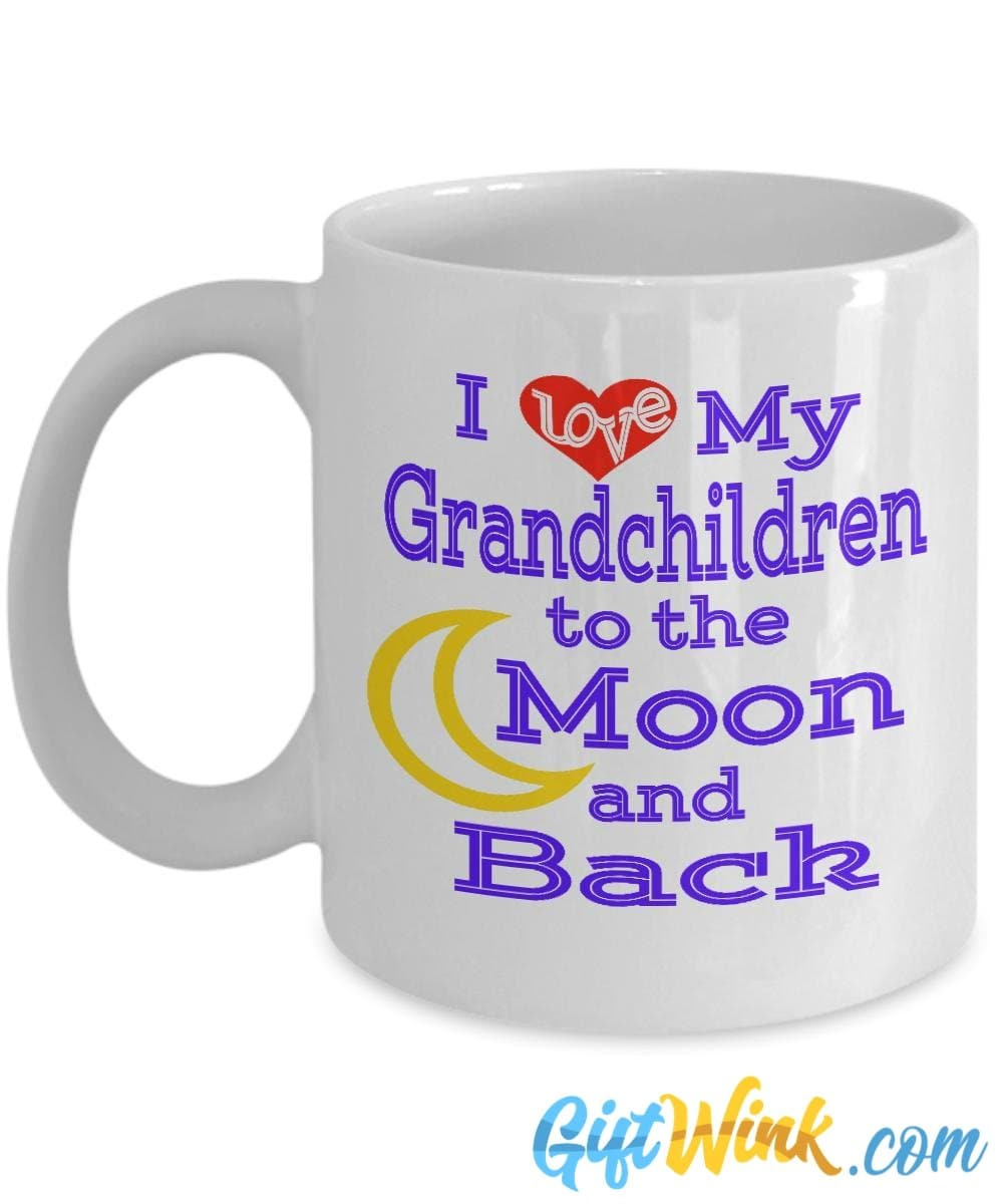 Moon and Back Grandchildren Mug-Coffee Mug-Gift Wink