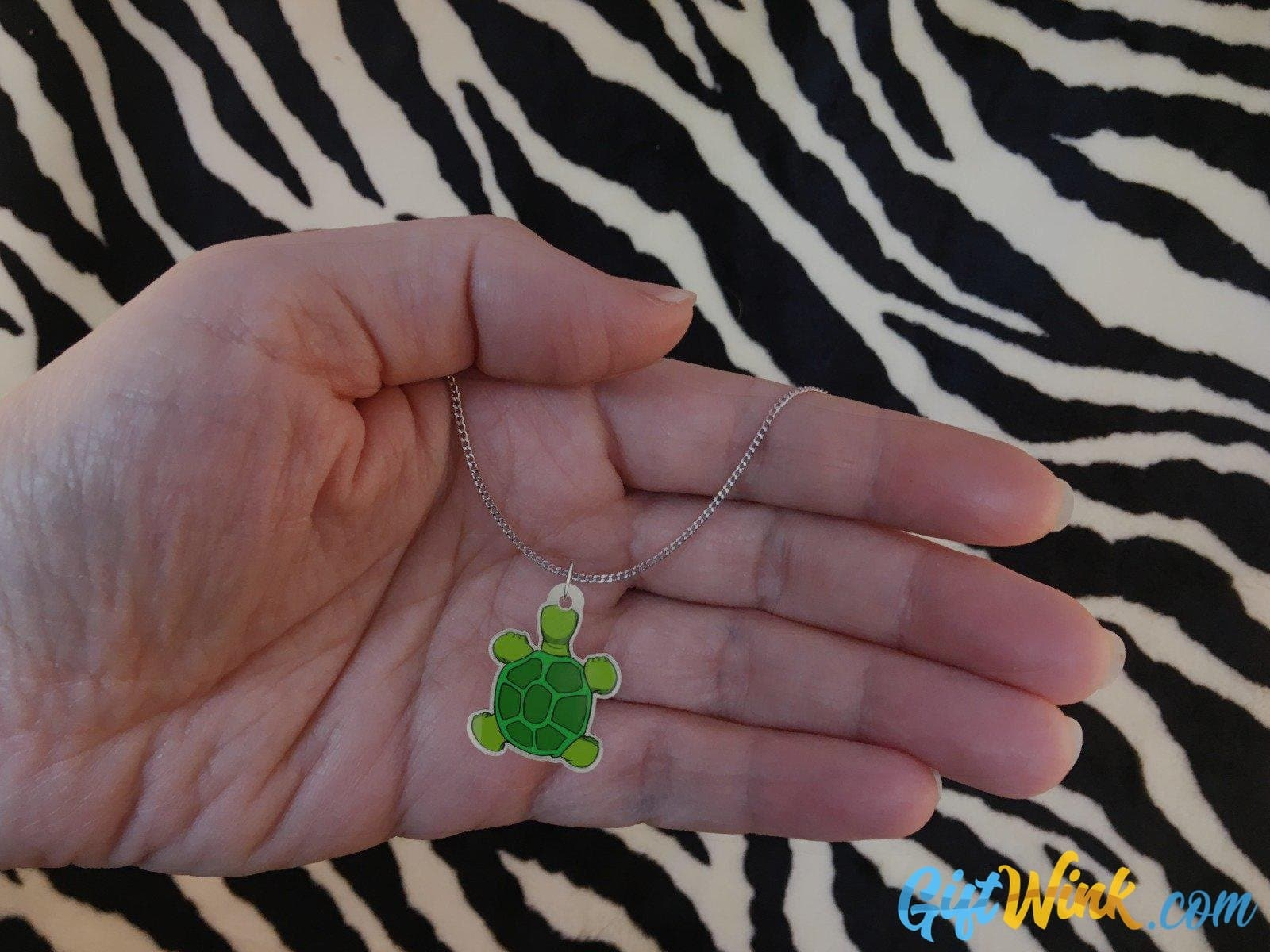 Turtle Necklace-pendant-Gift Wink