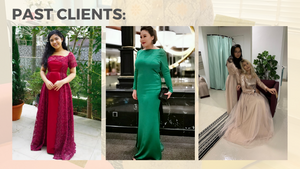 online contactless sewing and alteration service evening dress singapore