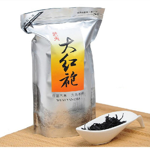 500g China Big Red Robe Oolong Tea the Original Green Food Wuyi Rougui Tea For Health Care Lose Weight