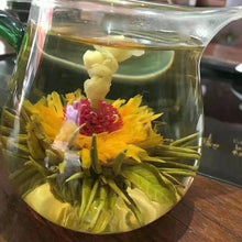 Load image into Gallery viewer, 16 Kinds of Handmade Blooming Flower Tea 140g Chinese Ball blooming Flower Herbal Artistic The Tea For Health Care Products Tea
