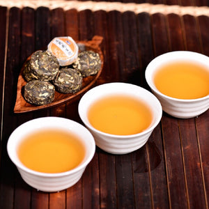 50pcs Different Flavors Chinese Yunnan Puer Tea Pu er Pu'er Tea Bag Gift For Health Care Mini Tuo Cha Chinise Food Puerh Tea