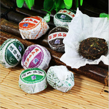 Load image into Gallery viewer, 50pcs Different Flavors Chinese Yunnan Puer Tea Pu er Pu'er Tea Bag Gift For Health Care Mini Tuo Cha Chinise Food Puerh Tea