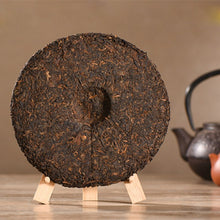 Load image into Gallery viewer, Made in 1999 yr Ripe Puer Tea 357g Chinese Yunnan Puerh Healthy Weight loss Tea Beauty Prevent Arteriosclerosis Pu er Puerh Tea