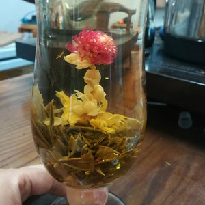16 Kinds of Handmade Blooming Flower Tea 140g Chinese Ball blooming Flower Herbal Artistic The Tea For Health Care Products Tea