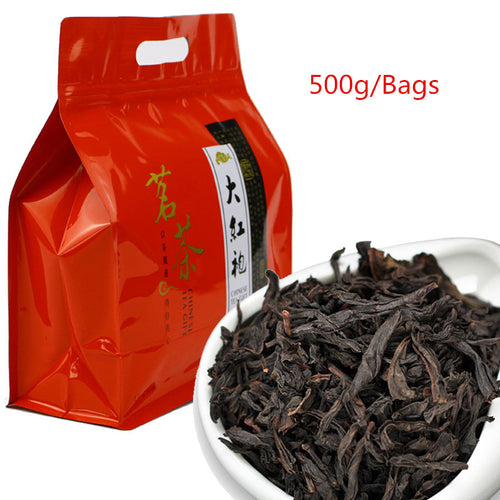 5A New 500g China Big Red Robe Oolong Tea the original Green food Wuyi Rougui Tea For Health Care Lose Weight