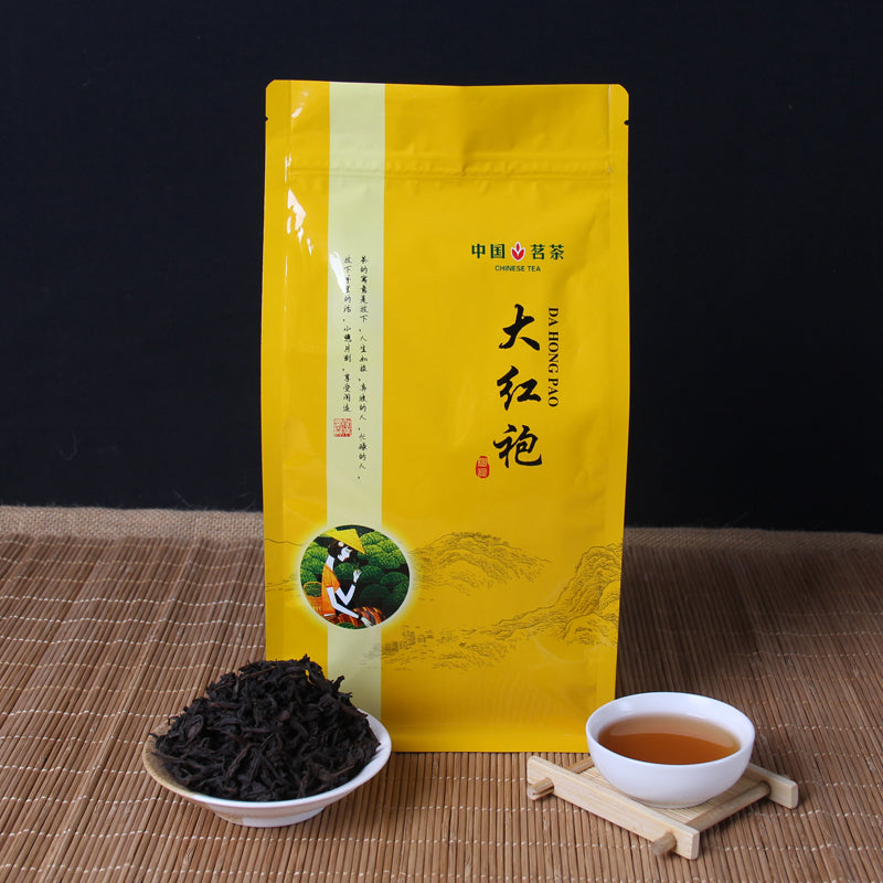 5A Top China Big Red Robe Oolong Tea the Original Green Food Wuyi Rougui Tea For Health Care Lose Weight
