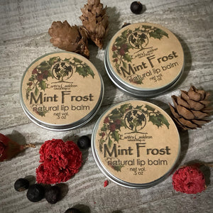 Mint Frost Lip Balm 100% natural