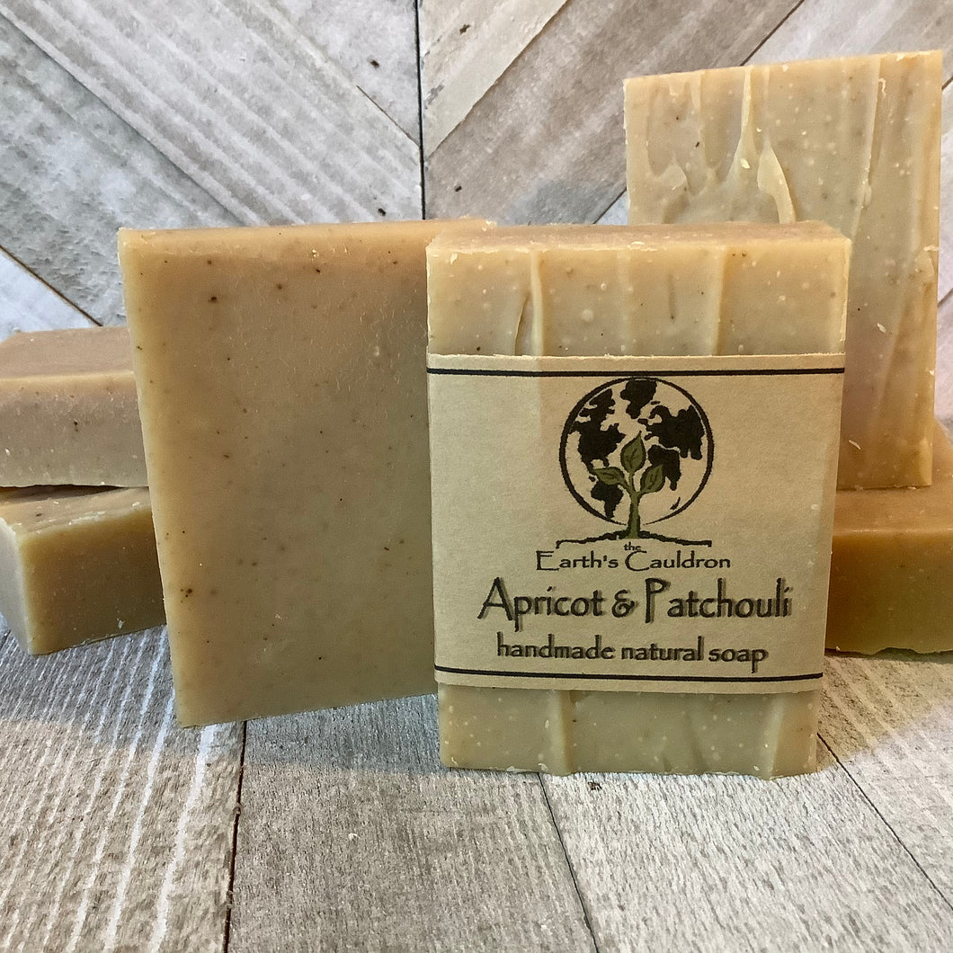 Apricot & Patchouli Handmade Natural Soap
