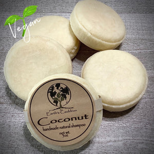 Coconut Handmade Natural Shampoo Bar ~ 🌱 Vegan