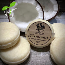 Load image into Gallery viewer, Coconut Handmade Natural Shampoo Bar ~ 🌱 Vegan