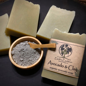 Avocado & Clay ~ Organic Avocado Soap