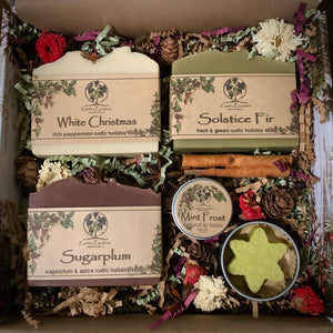 Winter Collection Handmade Soap Gift Set
