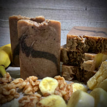 Load image into Gallery viewer, Banana Nut Bread Handmade Natural Soap