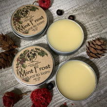 Load image into Gallery viewer, Mint Frost Lip Balm 100% natural
