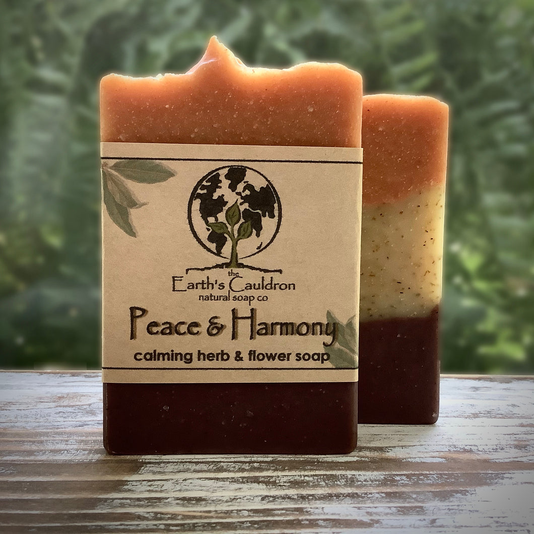 Peace & Harmony Handmade Natural Soap