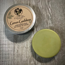 Load image into Gallery viewer, Green Goddess ~ Solid Lotion Bar for Body & Hands
