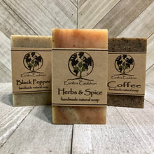 Load image into Gallery viewer, Coffee Handmade Natural Soap