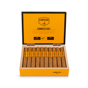 camacho Connecticut, cigar, single cigar, full box, Davidoff