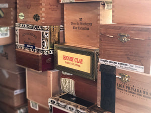Empty Cigar Boxes