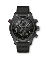 PILOT'S WATCH DOUBLE CHRONOGRAPH TOP GUN CERATANIUM