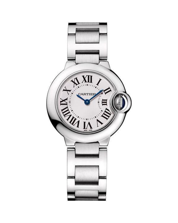 BALLON BLEU DE CARTIER, 28 MM, STEEL