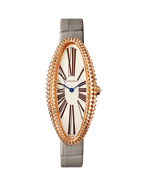 BAIGNOIRE ALLONGEE WATCH, MEDIUM MODEL, ROSE GOLD