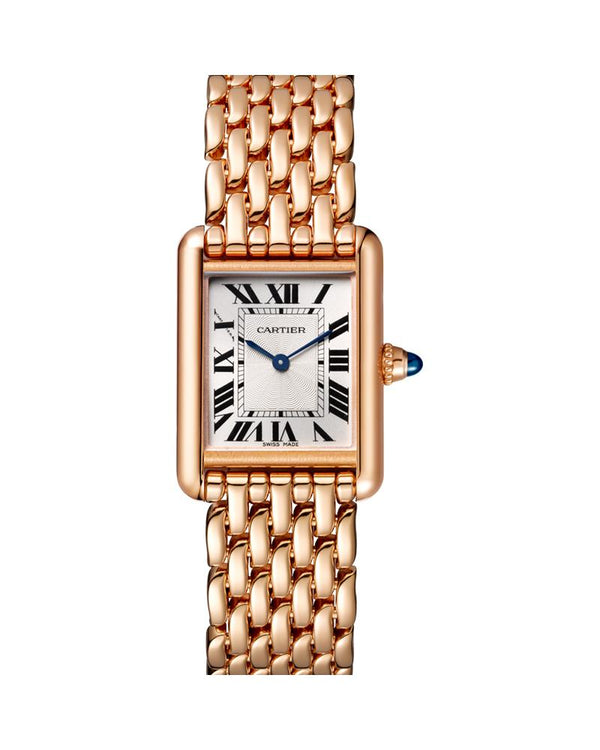 TANK LOUIS CARTIER, SMALL, ROSE GOLD