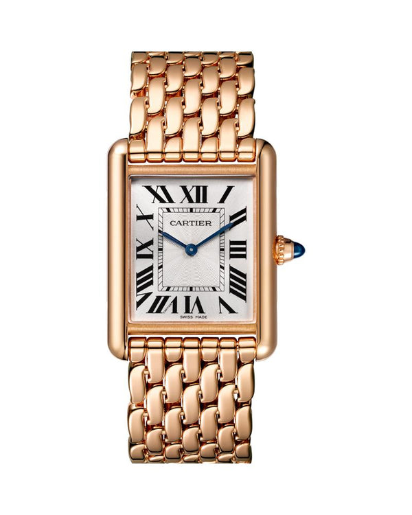 TANK LOUIS CARTIER, LARGE, ROSE GOLD
