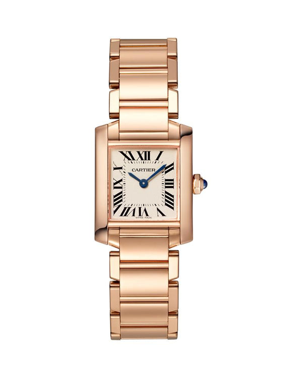TANK FRANCAISE, SMALL, 18K ROSE GOLD