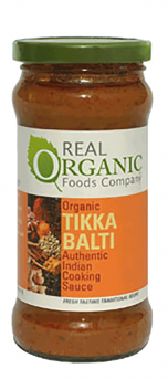Real Organic Tikka Balti Cooking Sauce